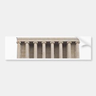 Arquitectura griega clásica pegatina para auto