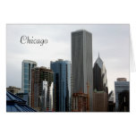 Arquitectura hermosa de Chicago Tarjeta Pequeña