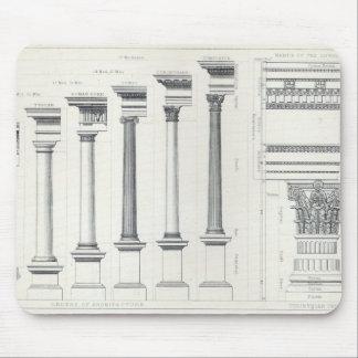 Arquitectura I: Órdenes de la arquitectura Tapete De Raton