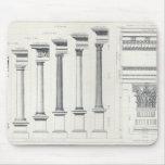 Arquitectura I: Órdenes de la arquitectura Alfombrilla De Ratones