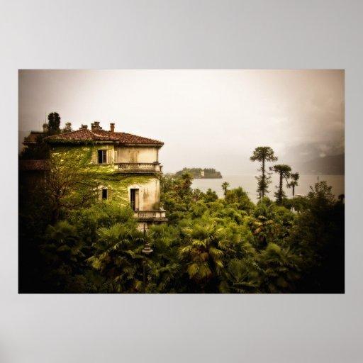 Arquitectura italiana en el lago Maggiore Impresiones