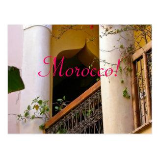 arquitectura marroquí postales