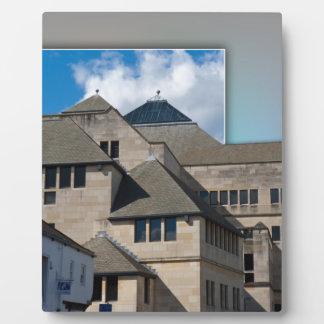 Arquitectura moderna de York fuera de los límites Placas Para Mostrar