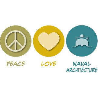Arquitectura naval del amor de la paz escultura fotografica