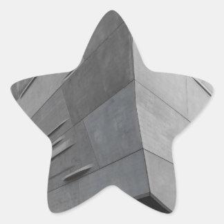 Arquitectura Pegatina En Forma De Estrella