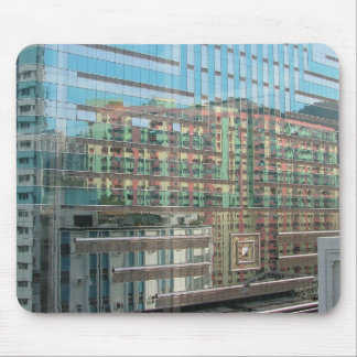 Arquitectura reflejada tapetes de ratones