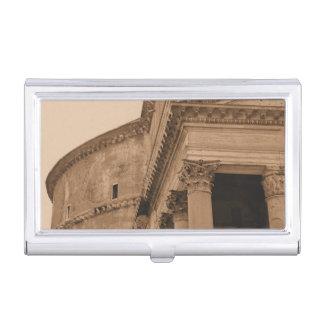 Arquitectura romana antigua del panteón de Roma Caja De Tarjetas De Presentación