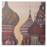 Arquitectura rusa azulejo cuadrado grande
