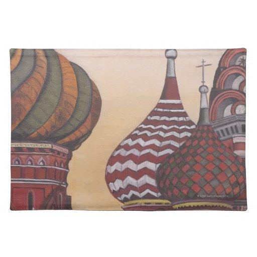 Arquitectura rusa mantel individual