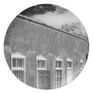 Arquitectura territorial del estilo Santa Fe nue Plato De Comida