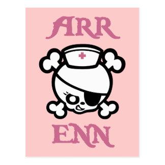 Arr Enn Postcard