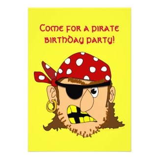 Arr Pirate Man Customizable Pirate Stuff Personalized Announcements
