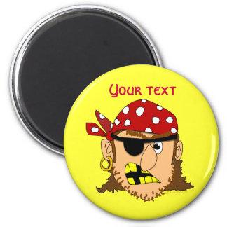 Arr Pirate Man Customizable Pirate Stuff Magnet