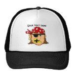Arr Pirate Man Customizable Pirate Stuff Mesh Hats