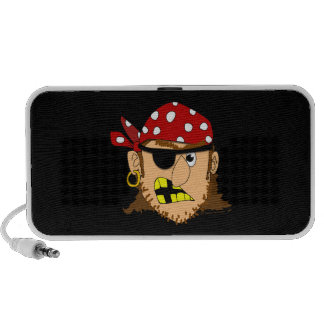 Arr Pirate Man Customizable Pirate Stuff Travel Speakers