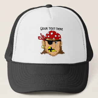 Arr Pirate Man Customizable Pirate Stuff Trucker Hat