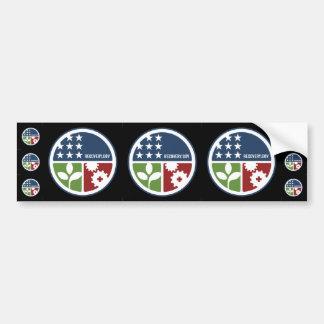"""ARRA Recovery/Stimulus 3-3"""" & 6-1"""" Stickers Bumper Stickers"""