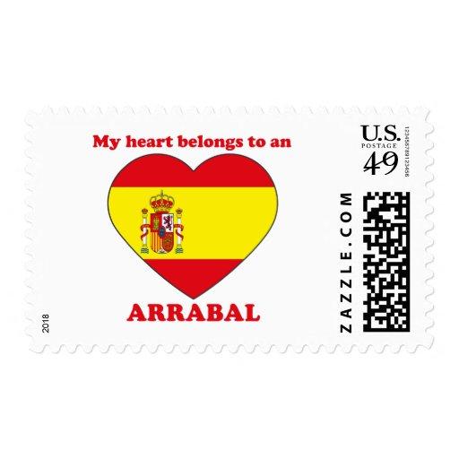 Arrabal Sello Postal