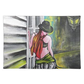 Arrabalera - chica del tango manteles