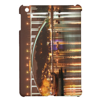 Arrabida Bridge by night, Oporto Portugal Cover For The iPad Mini