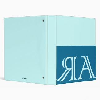 Arraias anagram, blue binder