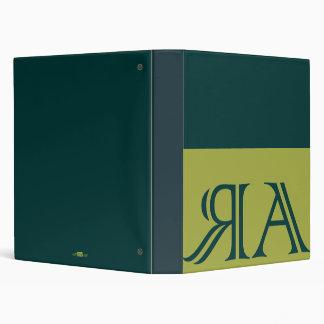 Arraias anagram, green clearly. binder