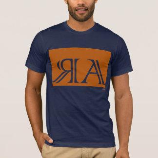 Arraias anagram, orange. Woman t-shirt