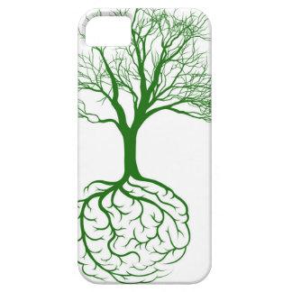 Arraiga el cerebro iPhone 5 funda