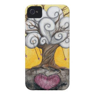 """""""Arraigado en caso del iPhone del amor"""" Case-Mate iPhone 4 Carcasa"""