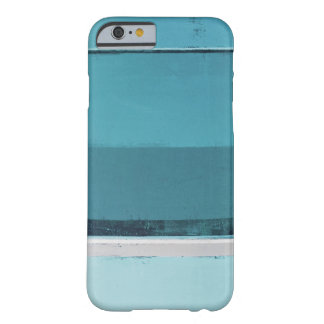 'Arrange' Teal and Grey Abstract Art Barely There iPhone 6 Case