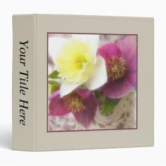 Arrangement - Daffodils And Hellebores Binder