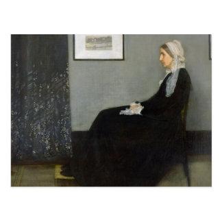 Arrangement in Grey and Black No.1 Postcard