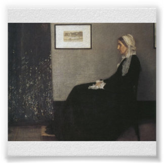 Arrangement in Grey and Black - Whistler's Mother Print