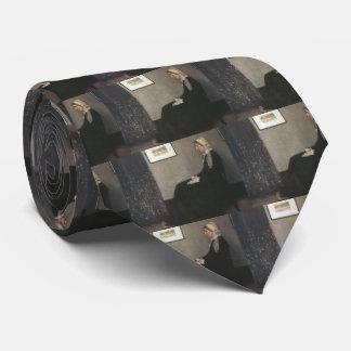 Arrangement in Grey and Black - Whistler's Mother Tie