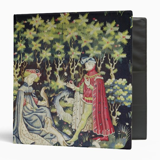 Arras Tapestry, Offering of the Heart 3 Ring Binder