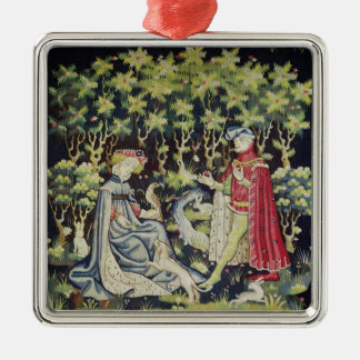 Arras Tapestry, Offering of the Heart Metal Ornament