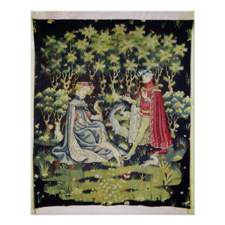 Arras Tapestry, Offering of the Heart Poster