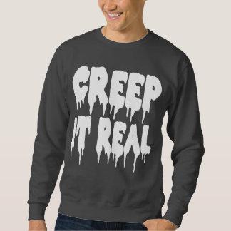 Arrastramiento él camiseta real