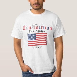 Arrastre de Pub de Canamerican 2012 Camisas