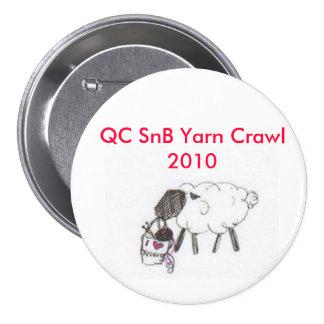 Arrastre del hilado de QCSnB Pin Redondo 7 Cm