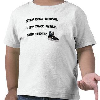 Arrastre paseo camiseta del HOCKEY