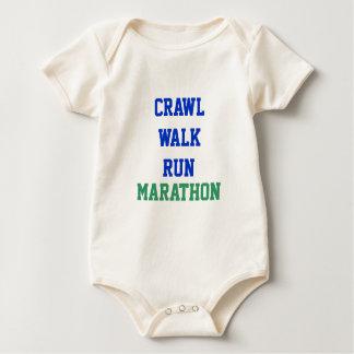 Arrastre, paseo, funcionamiento, MARATÓN Mamelucos De Bebé