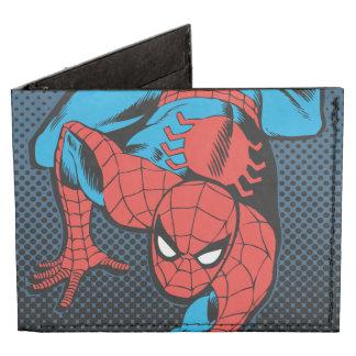Arrastre retro de la pared de Spider-Man Billeteras Tyvek®