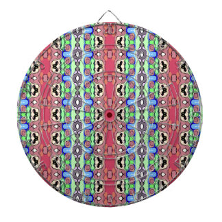 Array of Colors Pattern Dartboard