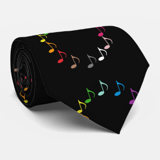 Array of Musical Notes Tie