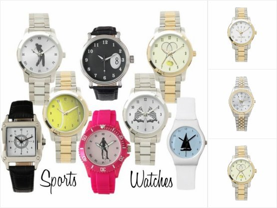 Array of Sports Design Wristwatches