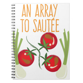 Array To Sautee Notebook