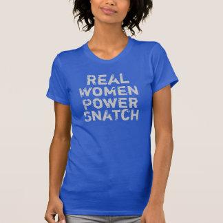 Arrebatamiento del poder de las mujeres reales camiseta