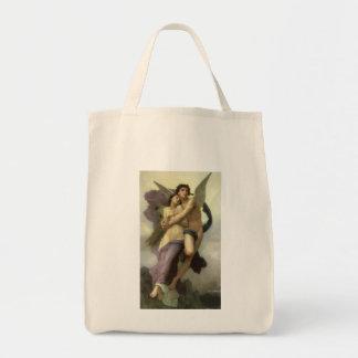 Arrebato por Bouguereau, ángel del Victorian del Bolsa De Mano