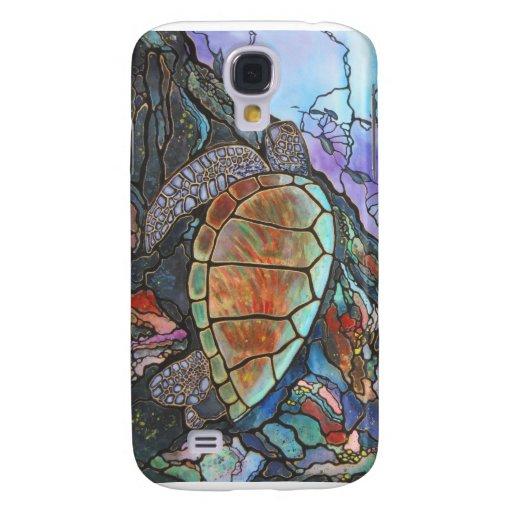 Arrecife de coral de la fantasía de la tortuga de
